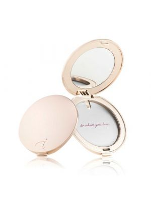 Refillable Compact Rose Gold Poederdoos-compact rose gold of Silver van jane iredale